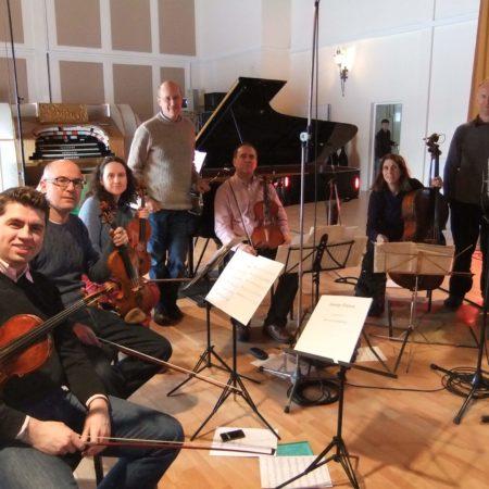 With Schubert Ensemble Jan 2013 rec.