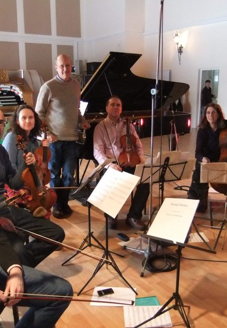 With Schubert Ensemble Jan 2013 rec.